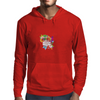 Back to school, looking cool, girly flowers, butterfly Mens Hoodie