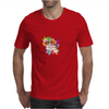 Back to school, looking cool, girly flowers, butterfly Mens T-Shirt