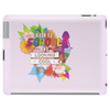 Back to school, looking cool, girly flowers, butterfly Tablet (horizontal)