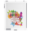 Back to school, looking cool, girly flowers, butterfly Tablet (vertical)