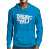 Back to the 80's, Funny Retro Mens Hoodie