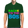 BACK TO THE 80s Mens Polo