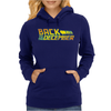 Back To The December Logo Womens Hoodie