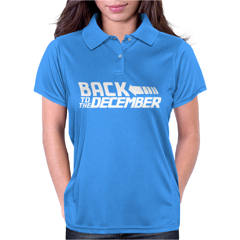 Back To The December Womens Polo