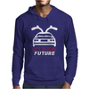 Back To The Future Classic Mens Hoodie