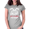 Back To The Future Classic Womens Fitted T-Shirt