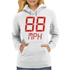 Back to the future movie inspired tshirt Womens Hoodie