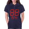 Back to the future movie inspired tshirt Womens Polo