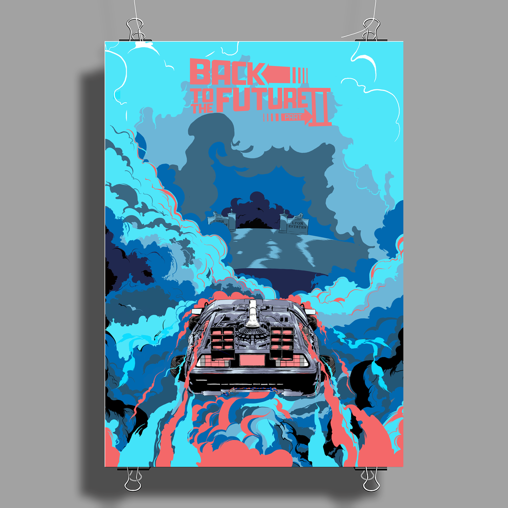 Back to the Future Poster Print (Portrait)