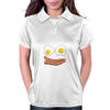 Bacon and eggs Design Womens Polo