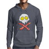 Bacon & and Eggs skull Mens Hoodie