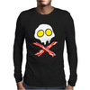 Bacon & and Eggs skull Mens Long Sleeve T-Shirt