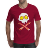 Bacon & and Eggs skull Mens T-Shirt