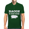 BACON IS MEAT CANDY Mens Polo