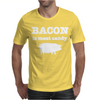 BACON IS MEAT CANDY Mens T-Shirt