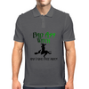 BAD ASS WITCH Mens Polo