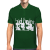 Bad Brains Stencil Mens Polo
