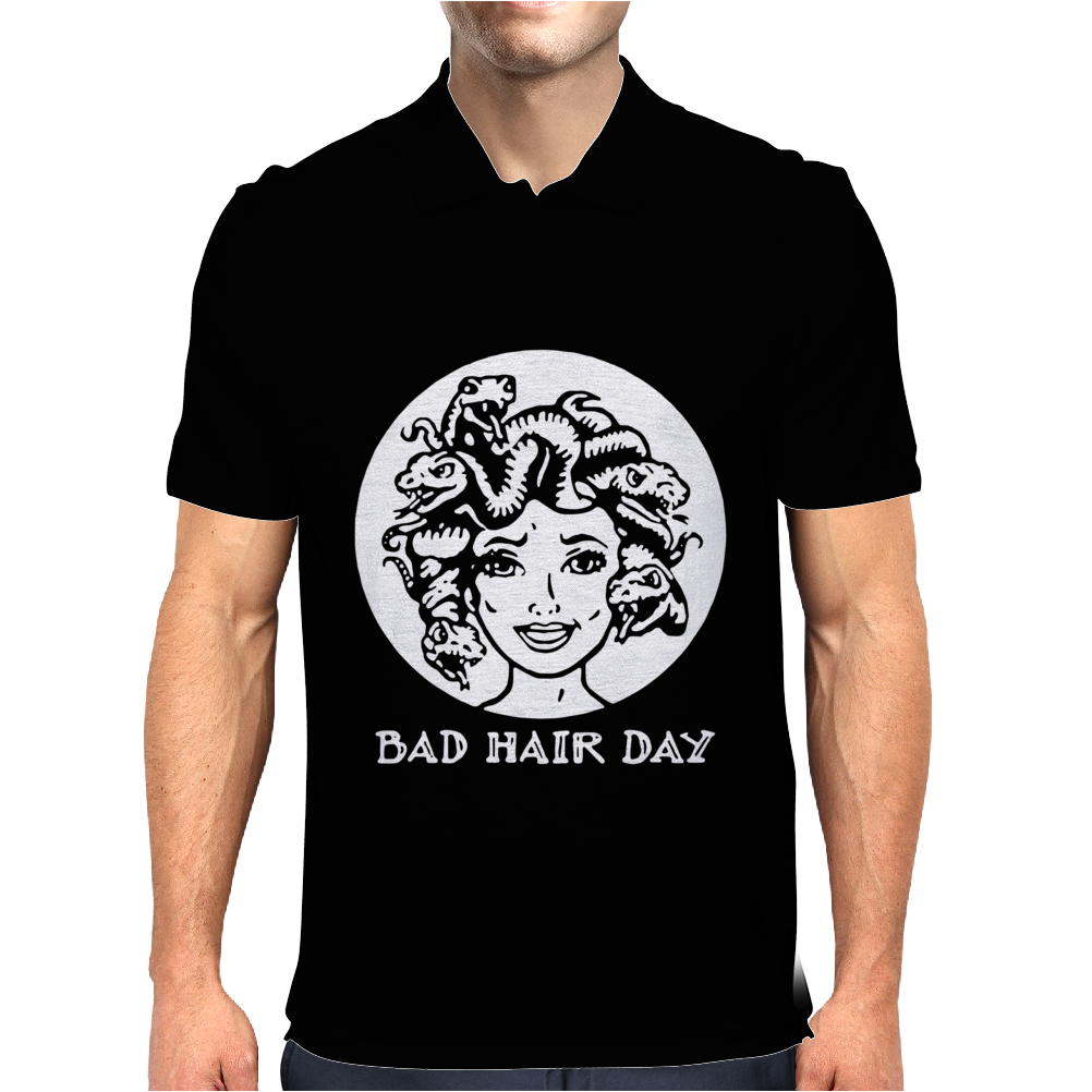 bad hair day Mens Polo