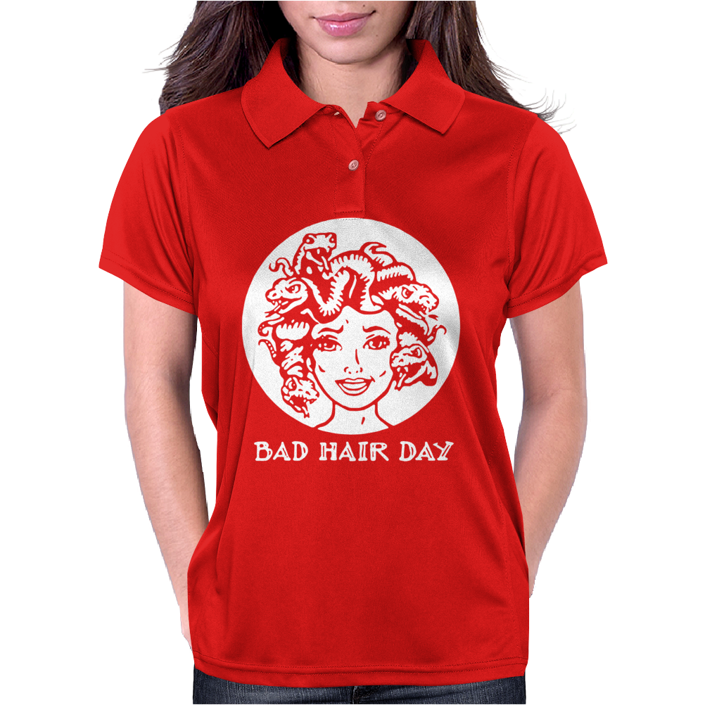 bad hair day Womens Polo
