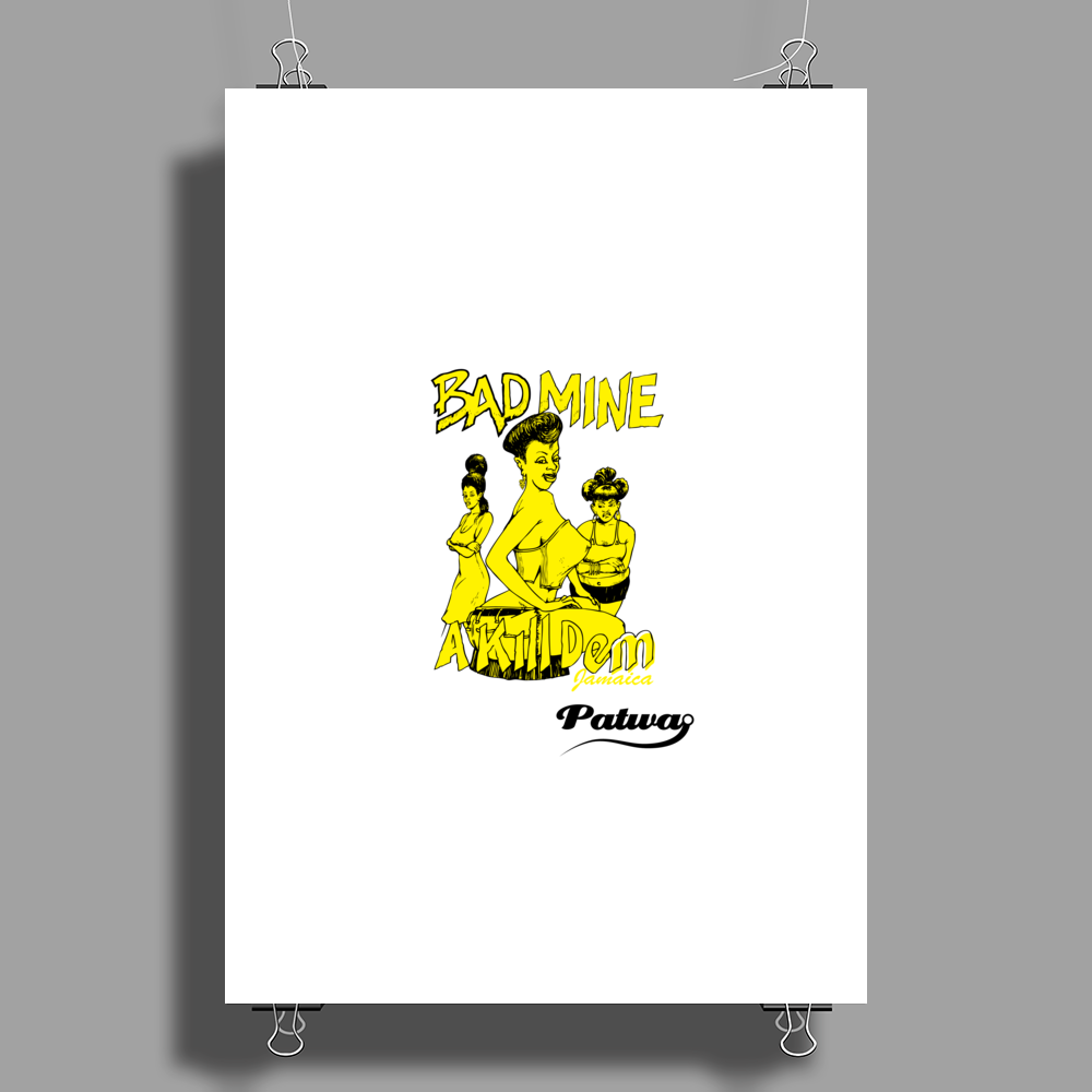 Bad Mine Poster Print (Portrait)
