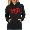 Bad Retro Michael Jackson Womens Hoodie