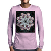 Badger Mandala Mens Long Sleeve T-Shirt
