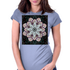 Badger Mandala Womens Fitted T-Shirt