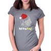BAH HUM PUG Womens Fitted T-Shirt