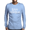 BAH HUMBUG Mens Long Sleeve T-Shirt