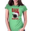Bah Humpug Funny Womens Fitted T-Shirt