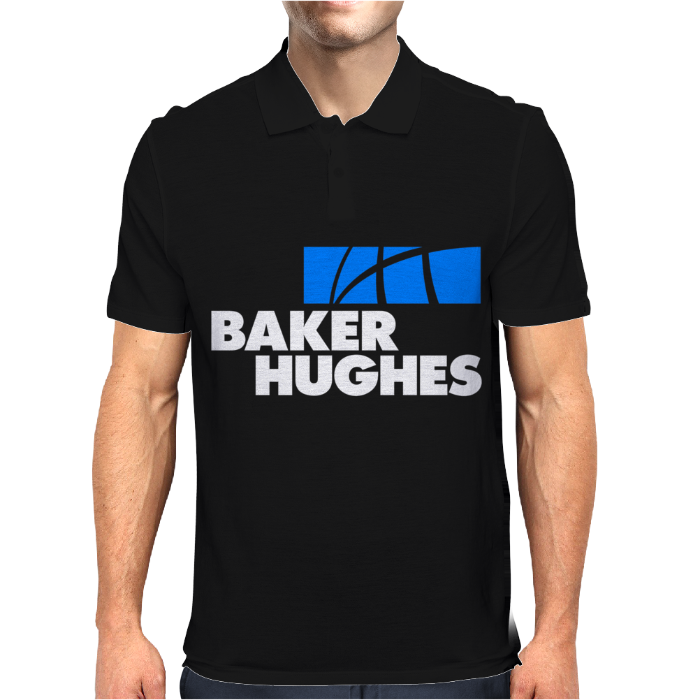 Baker Hughes Oilfield Services Companies Mens Polo