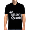 Baking Queen Mens Polo