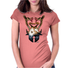 BALANCE OF POWER Womens Fitted T-Shirt