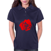 bald hand Womens Polo