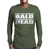 BALD Mens Long Sleeve T-Shirt