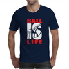 BALL IS LIFE FUNNY SPORTS Mens T-Shirt