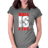 BALL IS LIFE FUNNY SPORTS Womens Fitted T-Shirt