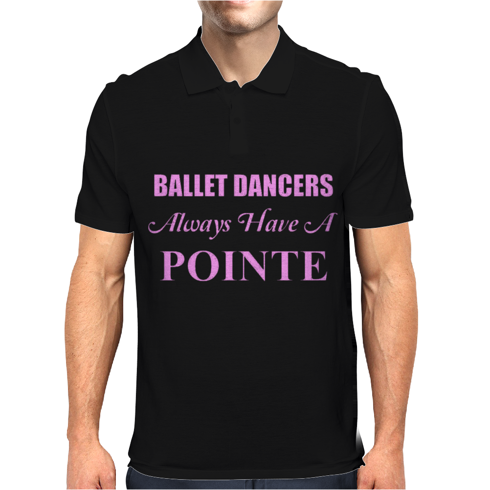 Ballet Dancer Mens Polo