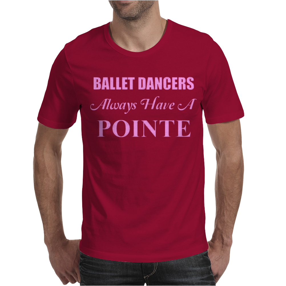 Ballet Dancer Mens T-Shirt