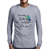 Balls 2 Knit- teals Mens Long Sleeve T-Shirt
