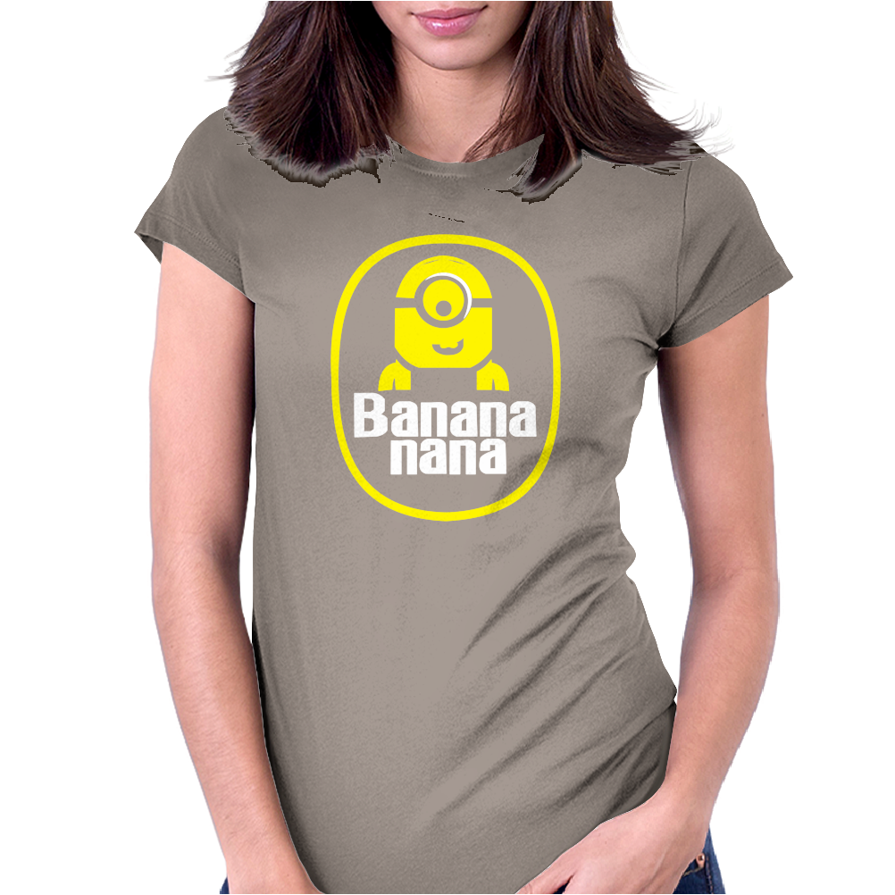 banana minion despicable nana Womens Fitted T-Shirt