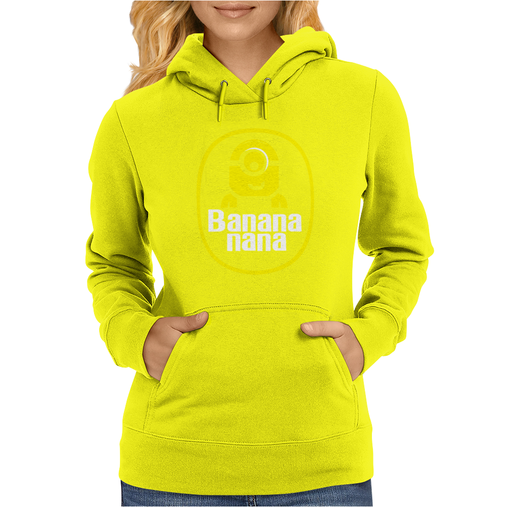 banana minion despicable nana Womens Hoodie