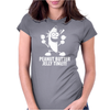 Banana Peanut Butter Jelly Time Womens Fitted T-Shirt