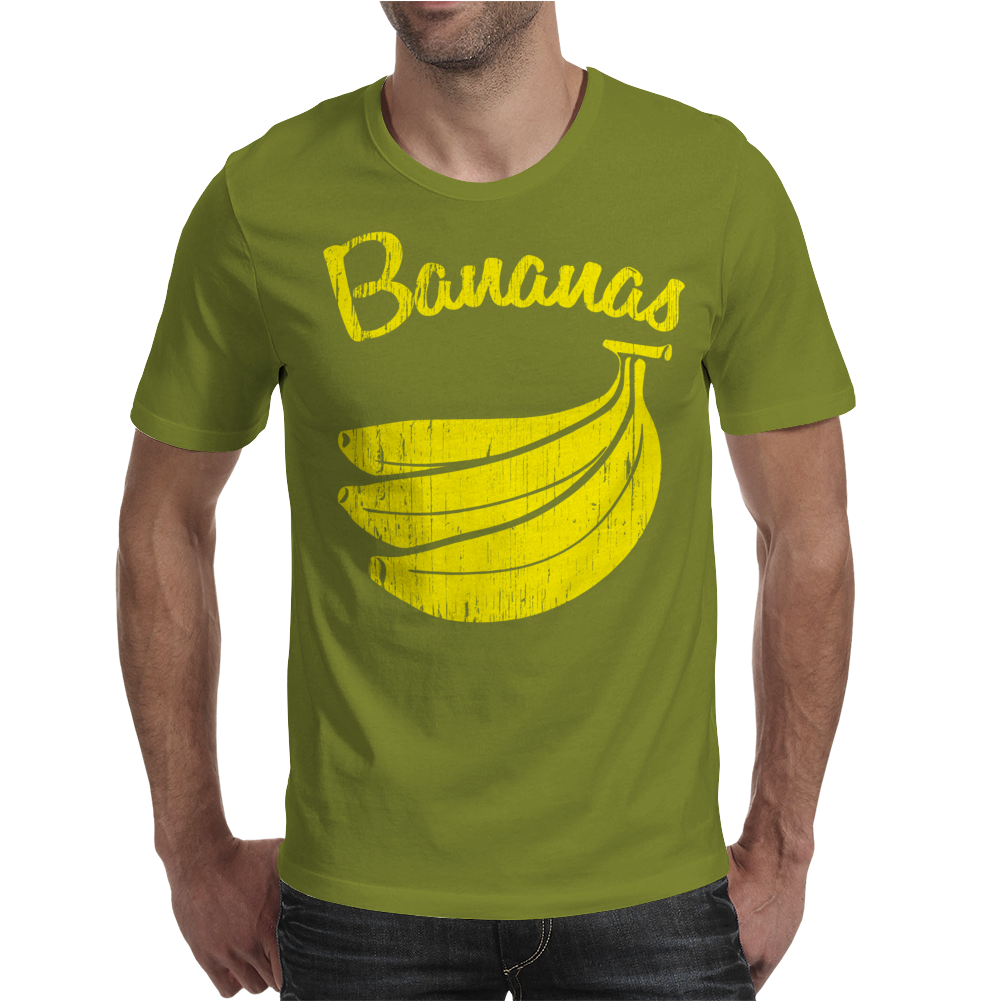 Bananas. Mens T-Shirt