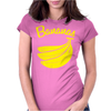 Bananas. Womens Fitted T-Shirt