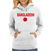 Bangladesh international team National country Womens Hoodie