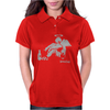 Banksy Fallen Angel Womens Polo