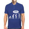 Banksy Funny Human Evolution Indie Mens Polo