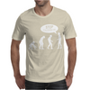 Banksy Funny Human Evolution Indie Mens T-Shirt