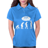 Banksy Funny Human Evolution Indie Womens Polo